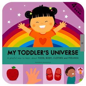 My toddler's univers