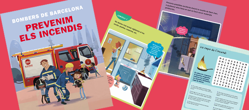 Ajuntament de Barcelona and the Barcelona Fire Service rely on Somnins the edition of their educational material