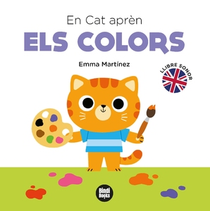 Cat learns the colours