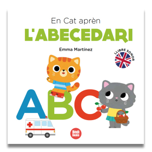 Cat learns the ABC
